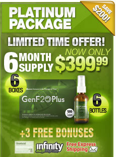 PLATINUM PACKAGE 6 MONTH SUPPLY